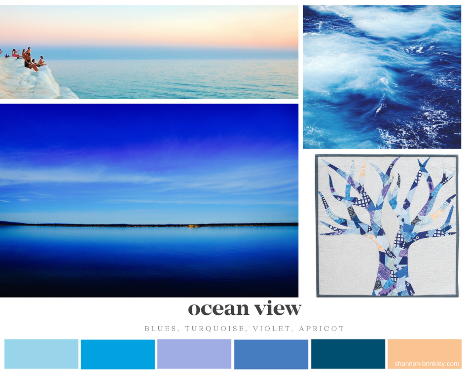 Ocean View Color Palette
