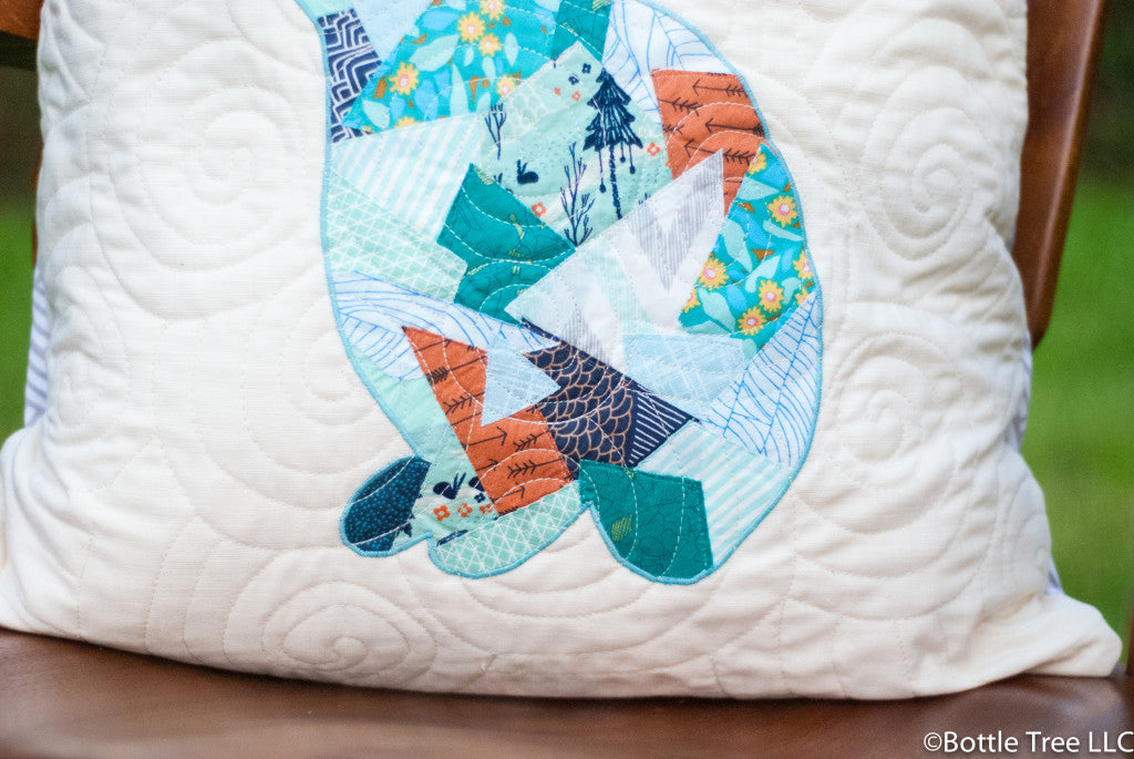 Throw Pillows Emoji : Quilted Throw Pillow Tutorial - Easy Envelope Closure ? Shannon Brinkley Studio