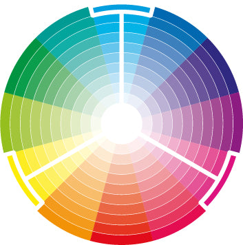 Triadic Color Wheel via shannon-brinkley.com