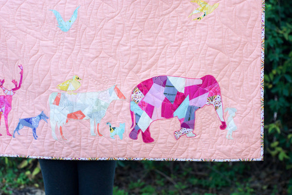 Cow Scrappy Applique PDF Pattern