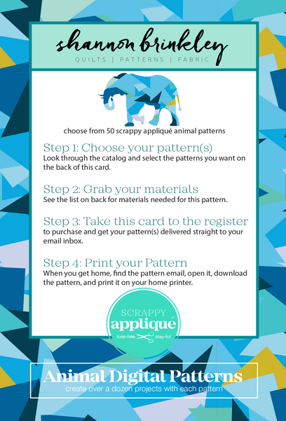 Digital Pattern Card Refills