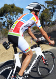 SKIN COOLER FULL ZIP TRI TOP - SHORT SLEEVE*