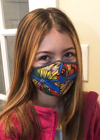 KIDS REVERSIBLE FACE MASK - 2 Ply