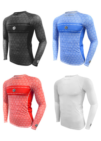 SKIN COOLER LONG SLEEVE TOP*