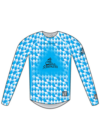 SKIN COOLER LONG SLEEVE TOP* - OCALA