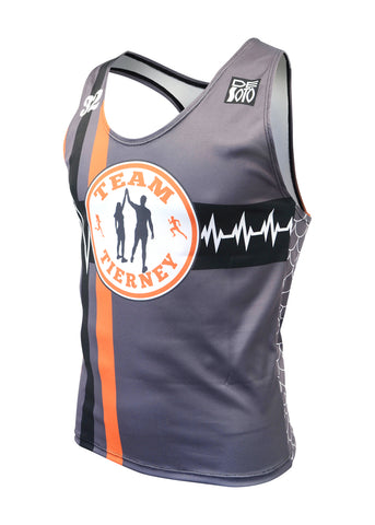 Skin Cooler Run Singlet Custom