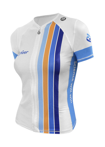 Women's Skin Cooler Full Zip Top Short Sleeve - Custom
