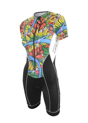 WOMEN'S TRISUIT - SHORT SLEEVE*