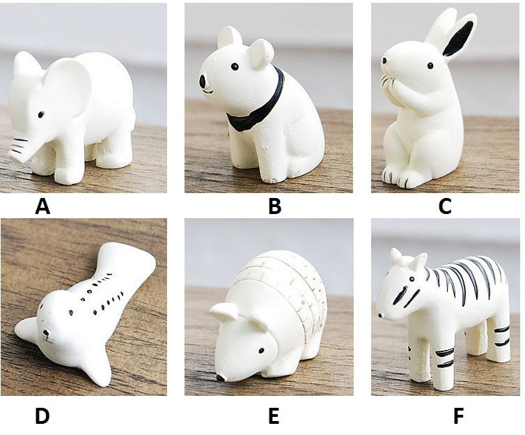 Miniature Animal Assort Figurines(12 pcs)