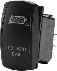 FLIP-LED LIGHT BAR LIGHTING SWITCH pn# SC1-AMB-L12 - planetrzr.com