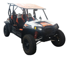 2008-2014 Polaris RZR-4 Fender Flares