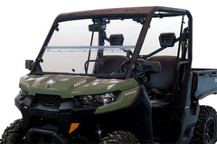 Seizmik Windshield Versa-Fold (UV Resistant Poly) — Can-Am Defender