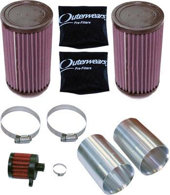Air Filter Kit RZR Xp K&N pn# rZR-af1-xp