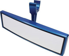 "MODQUAD-SINGLE CLAMP REAR VIEW MIRROR BLUE 1.75"" pn# RZR-M-BL - planetrzr.com"