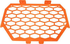 MODQUAD-2-PANEL FRONT GRILL (ORANGE) pn# RZR-FG-1K-OR - planetrzr.com