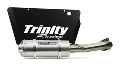 Trinity Racing RZR TURBO STINGER EXHAUST Choose Brushed Or Black Finish