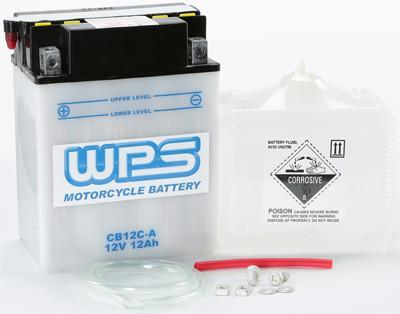 BATTERY W/ACID CB12C-A