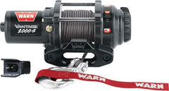 WARN-VANTAGE 2000-S WINCH W/SYNTHETIC ROPE pn# 89021 - planetrzr.com