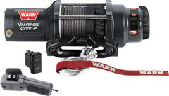 WARN-VANTAGE 4000-S WINCH W/SYNTHETIC ROPE pn# 89041 - planetrzr.com