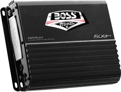 BOSS AUDIO-800/W 2 CHANNEL AMPLIFIER pn# BR800/ - planetrzr.com