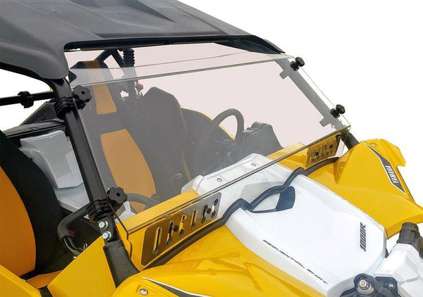 Yamaha YXZ Full Hard Coated Windshield With Dual Sliding Vents