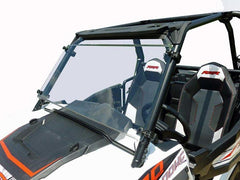 Polaris RZR 900/1000 Full Windshield W/Flip Clamps And Hard Coat
