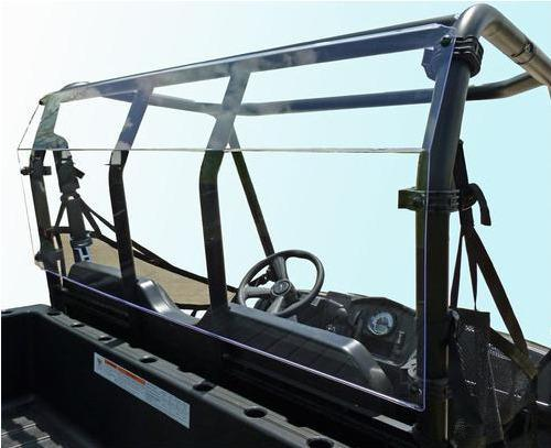 Polaris Ranger Midsize (Round Tubing) Rear Windshield-GP