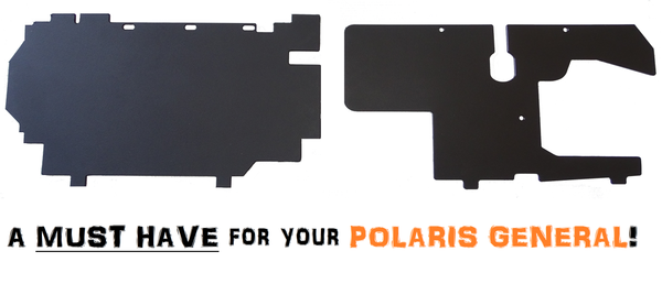 Polaris General Battery & Gas Tank Protection Panels