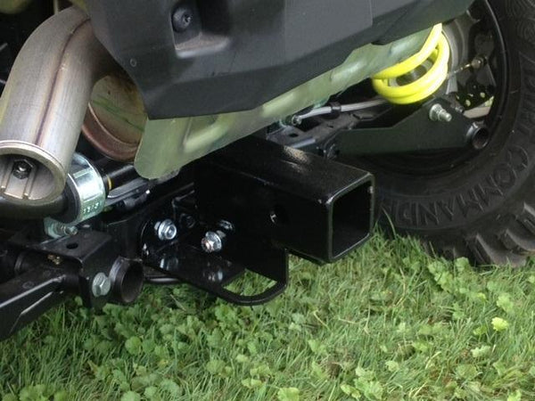 "EXTREME METAL PRODUCTS-EMP 2015-16 RZR 900 and 2016 RZR-S 1000 Rear 2"" Square Receiver Hitch - planetrzr.com"