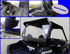 EXTREME METAL PRODUCTS-EMP 2015-17 RZR 900 and RZR-S 1000 Hard Coated Cab Back / Dust Stopper - planetrzr.com