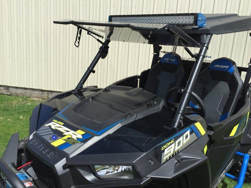 EMP Flip Up windshield for RZR XP1K and 2015 RZR 900 - planetrzr.com
