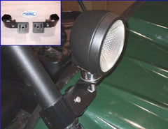 EMP UTV Light Bracket Set - planetrzr.com