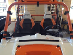 "EXTREME METAL PRODUCTS-EMP RZR Hard Coat ""Cooter Brown"" Windshield - planetrzr.com"