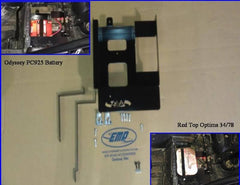 EXTREME METAL PRODUCTS-EMP RZR Battery Tray - planetrzr.com