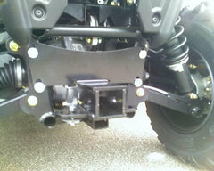 "EXTREME METAL PRODUCTS-EMP RZR 2"" Receiver Hitch - planetrzr.com"