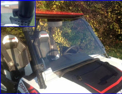 EXTREME METAL PRODUCTS-EMP RZR 1000 XP and 2015+ RZR 900 Hard Coated Full Windshield with Fast Straps - planetrzr.com