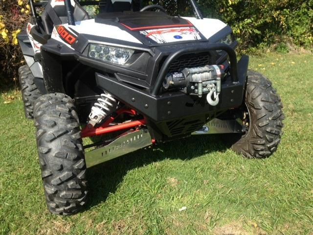 EMP RZR  Extreme Front  Bumper / Brush Guard with Winch Mount (XP1K and 2015-16 RZR 900) - planetrzr.com
