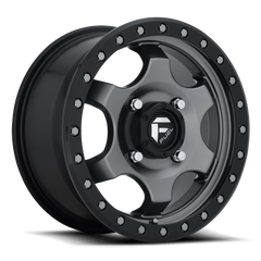 Fuel Gatling D640 Wheel / 15x7 | Anthracite w/ Black Ring 15 inch