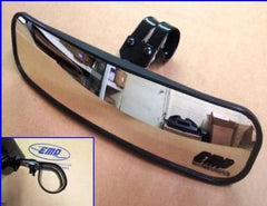 "Emp 13"" Wide Panoramic Rear View Mirror For 1-1/2-1-5/8"" Bars (pioneer, Big Red, Viking, Xyz, Wolverine And Ace)"