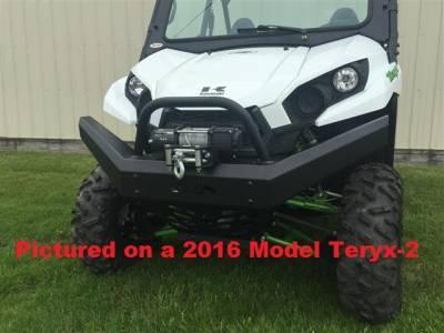 Emp Teryx And Teryx4 Front Bumper / Brush Guard With Winch Mount