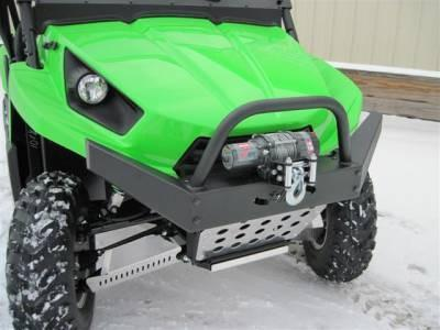 Emp Teryx Hd Front Bumper / Brush Guard With Winch Mount