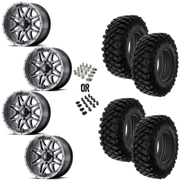 "MSA DT Vibe 14"" Wheels 32"" Crawler XG Tires"