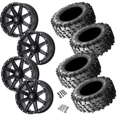 Maxxis Carnivore 29-9.5-15 on MSA M33 Clutch Satin Black 15x7