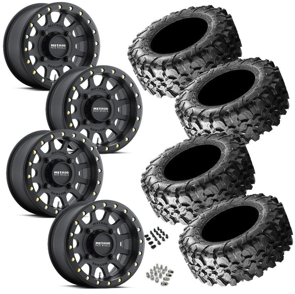Maxxis Carnivore 32-10-15 on Method 401 Beadlock Matte Black