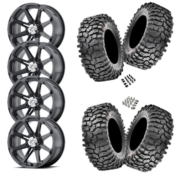 Maxxis Roxxzilla 30-10-14(Firm Compound) on MSA M12 Diesel 14x7