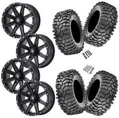 Maxxis Roxxzilla 30-10-14 on MSA M33 Clutch Satin Black 14x7