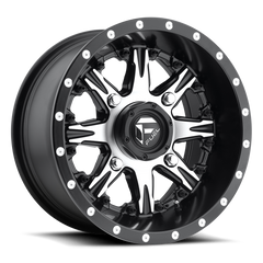 Fuel Nutz D541 UTV Wheel / Black & Machined Face 14 inch