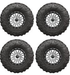 MSA M37 BRUTE Beadlock Maxxis Carnivore Wheel Tire Kit 14x7 15x7 choose tire size