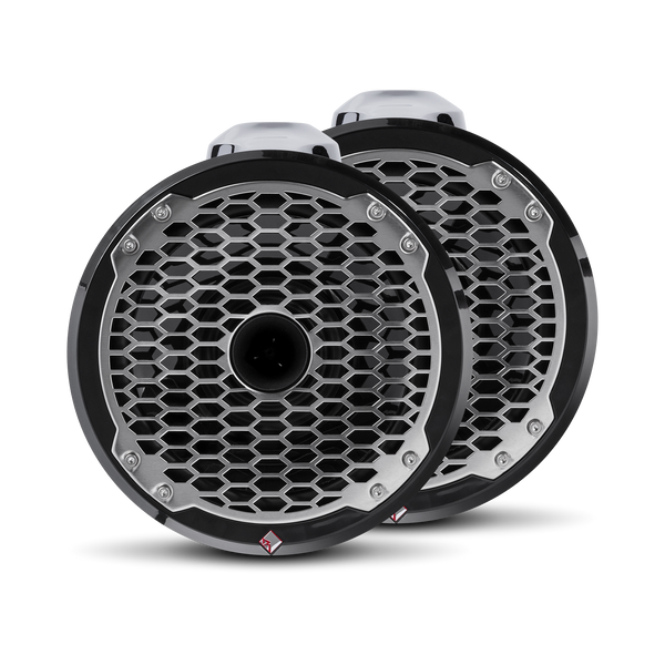 "Rockford Fosgate Punch Marine 8"" Wakeboard Tower Speaker - Horn Tweeter - Black PM282HW-B"
