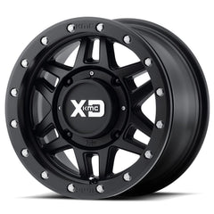 KMC XS228 Machete Beadlock UTV Wheels Satin Black